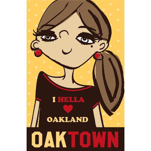 99 designs Oakland Poster