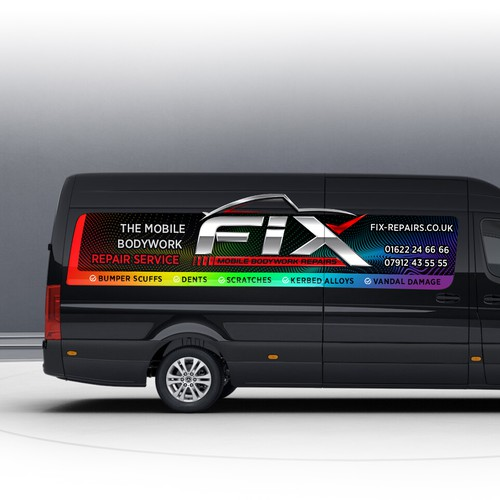 Wrap Design for FIX Repair Service