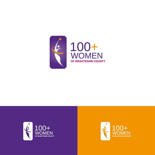 A powerful logo for 100+Women who Care