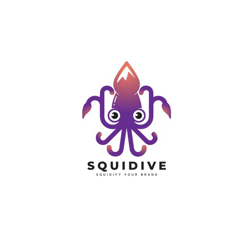 Logo Concept for Squidive