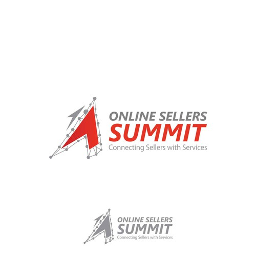 Online Sellers Summit Logo Design Concept