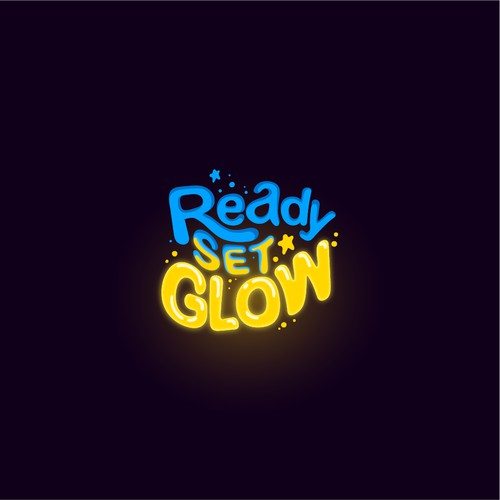 Logo Design for Ready Set Glow