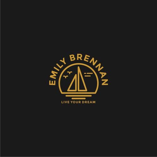 Emily Brennan logo designs