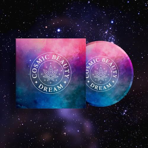 Watercolor Galaxy for Cosmic Beauty Dream