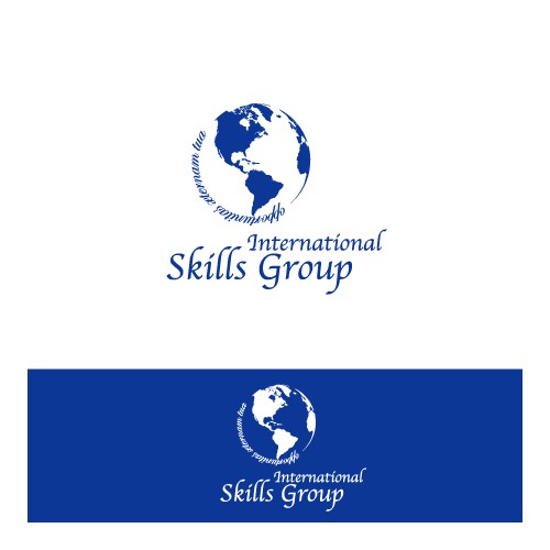 Refined logo concept for skills company