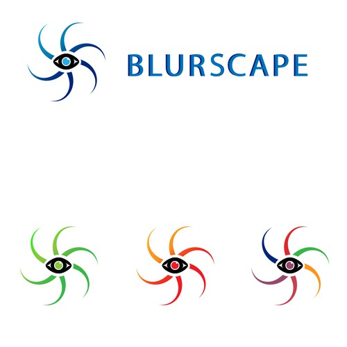 Blurscape, Modern logo to represent the rising market of VR