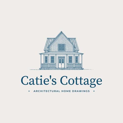 Vintage Illustration of House
