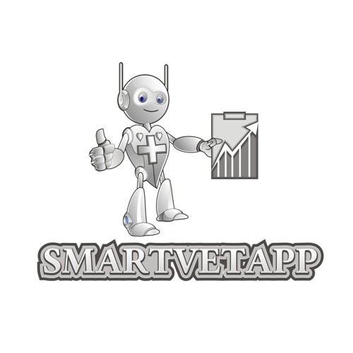 Mascot Logo Design For SmartvetApp