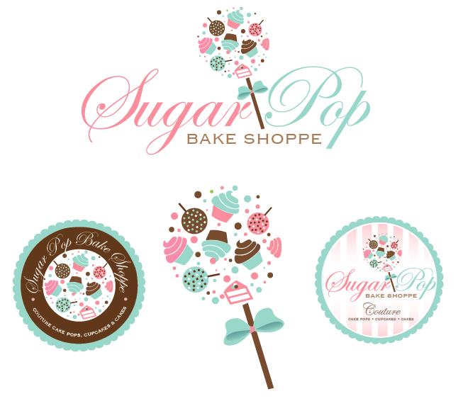 Create the next logo for Sugar Pop Bake Shoppe