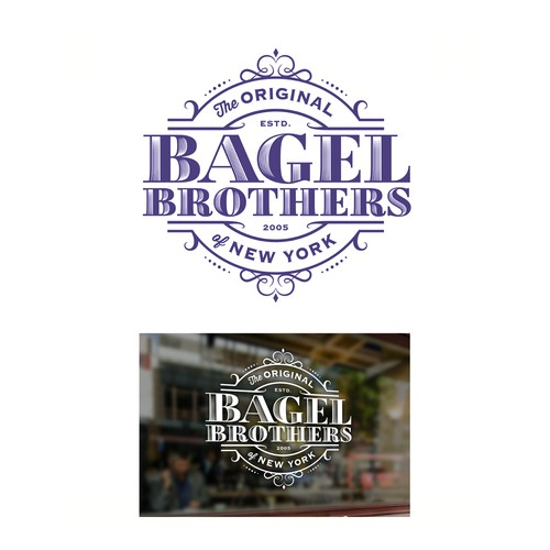 Bagel Brothers logo