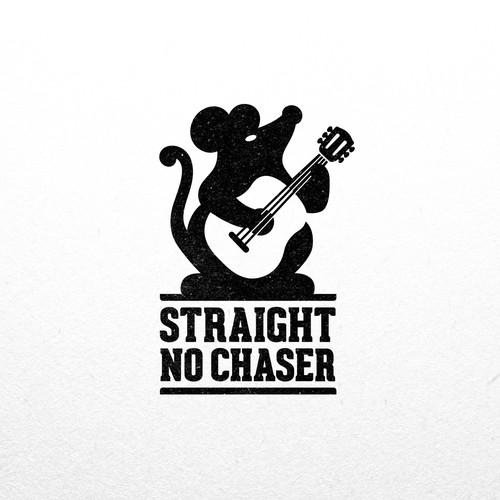 Funny logo for Straight No Chaser