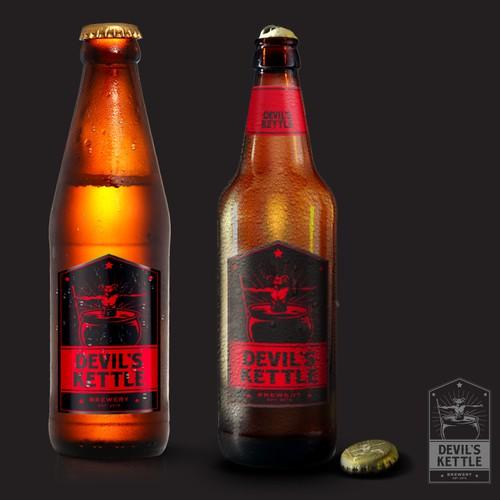 Create the next logo for Devil's Kettle