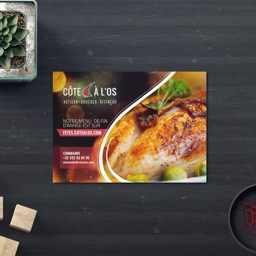 Côte à l'os luxury butcher Christmas menu announced
