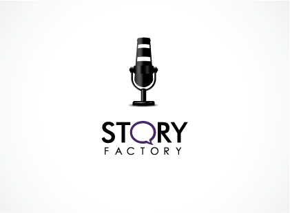 "Stand-out logo for ""THE"" storytelling company: Story Factory"