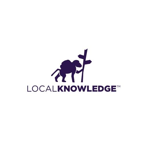 Logo for an online travel startup