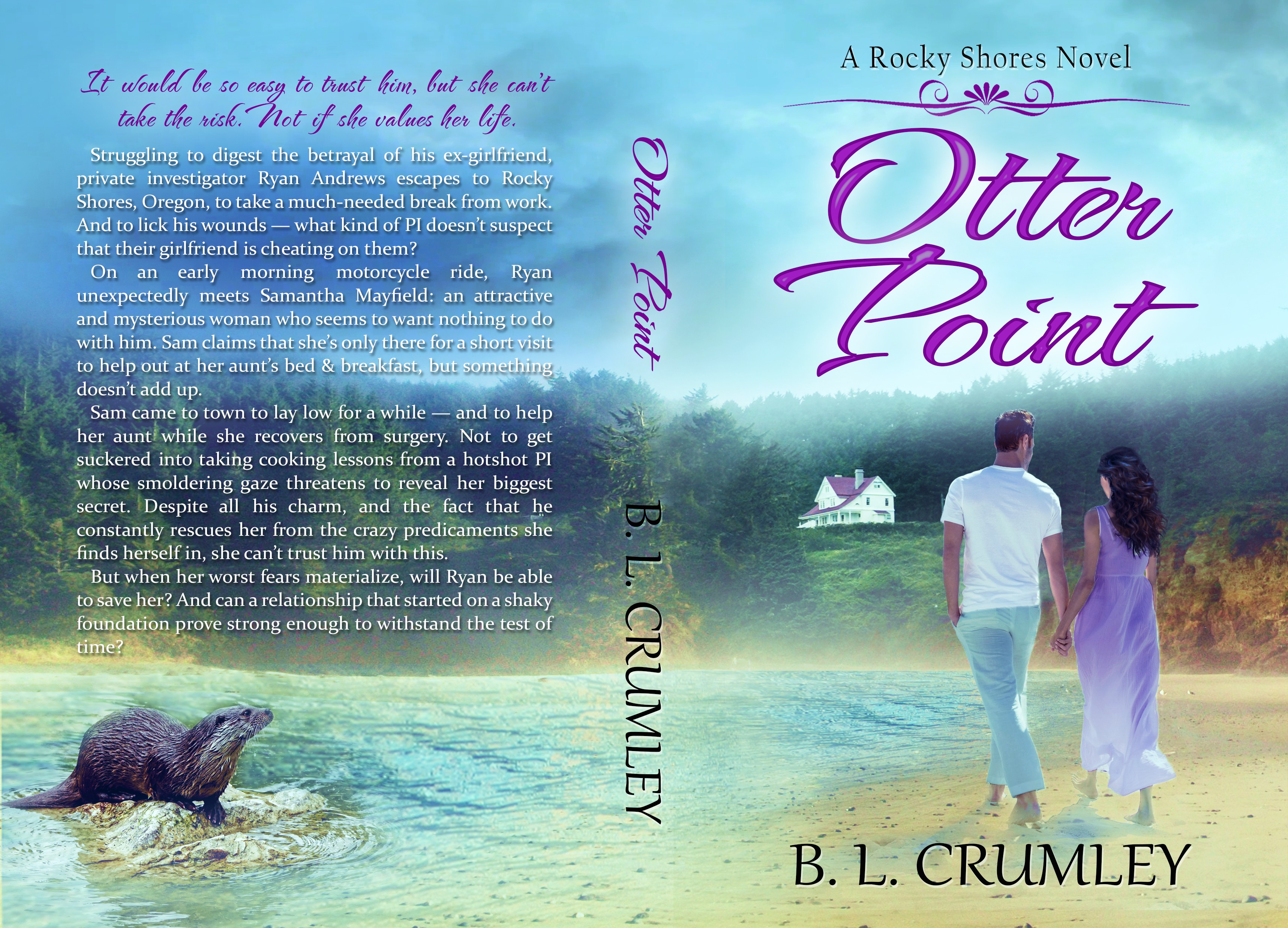 Book cover for Oregon Coast contemporary Romance