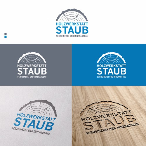 Logo for a joinery / carpenter in Switzerland