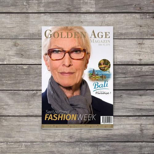 magazine cover for Golden Age magazin