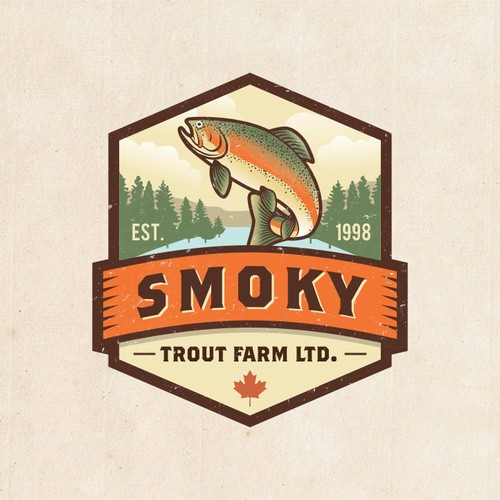 Bring us into the 21st Century. Successful family run fish farm needs a new image.