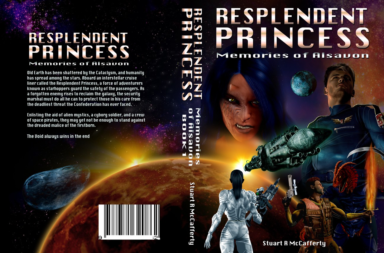 Book One of an ambitious space opera saga needs a cover!