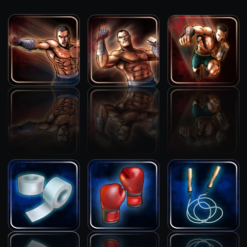 Need Virtual Goods Icons for MMA Fighting Game