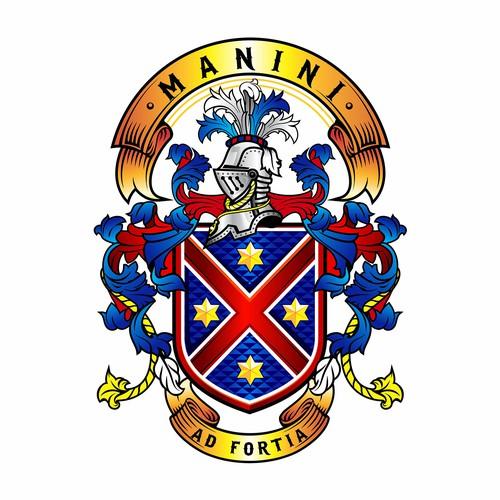 Manini's family crest
