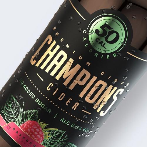 50 cal Champions Cider