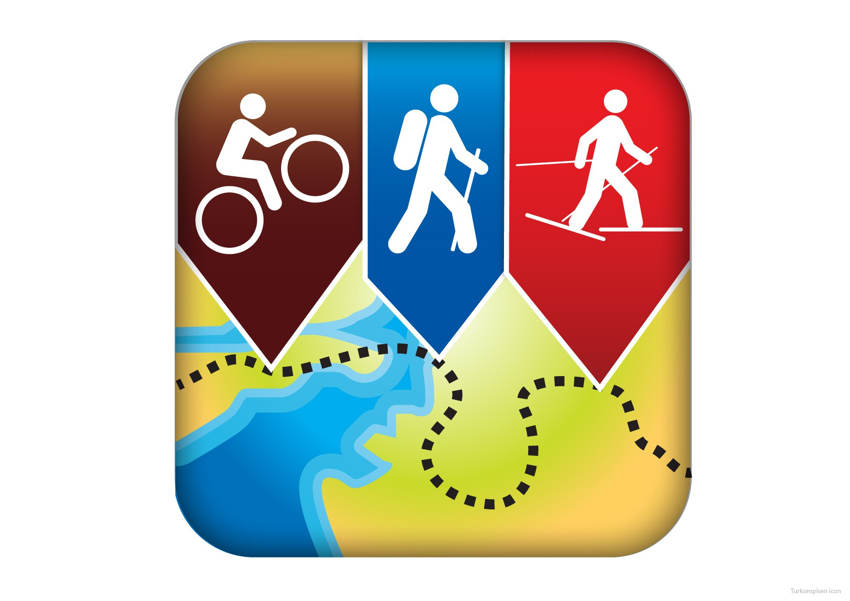 Icon for map app launching for Android/iOS