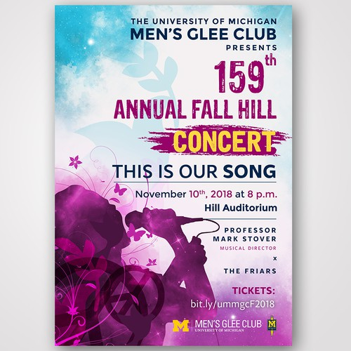 Men's Glee Club Poster