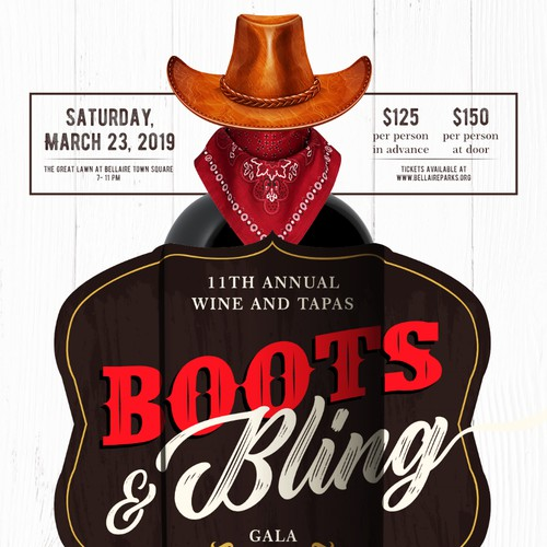 Boots and Bling Invitation