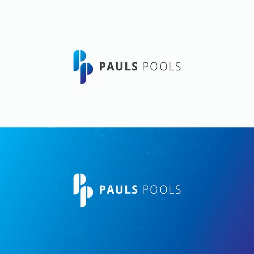 Exclusive logo for Pauls Pools