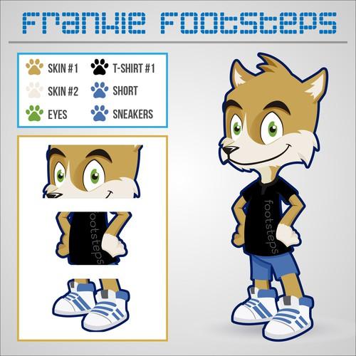 """Character Design """"Frankie Footsteps"""""""