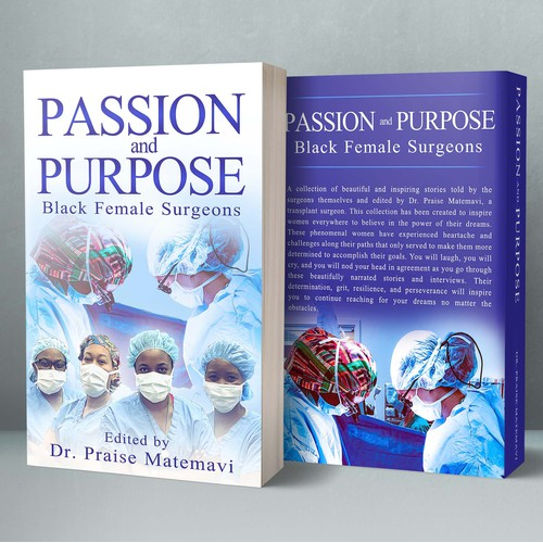 Book Cover - PASSION and PURPOSE: Black Female Surgeons