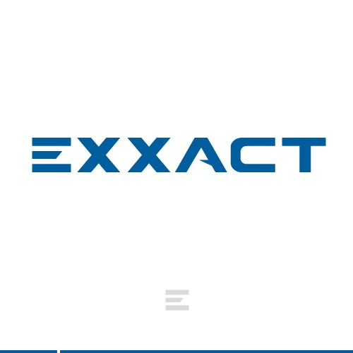Exxact Corporation Logo and Business Cards Design