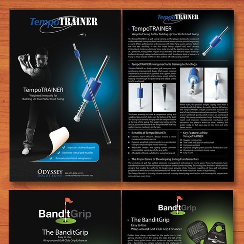 Flyers for ODYSSEY Solutions