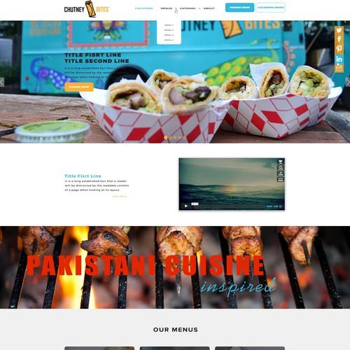Website For FoodTruck