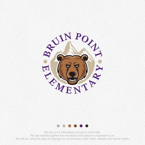 Logo for Bruin Point Elementary