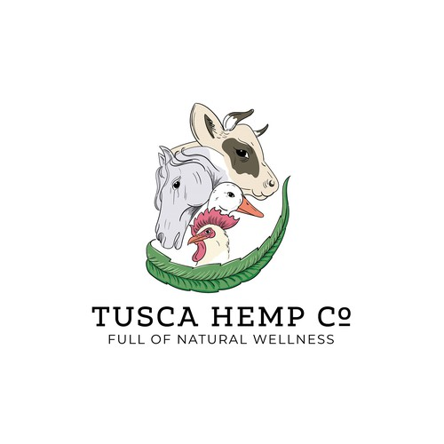 Logo design for natural products