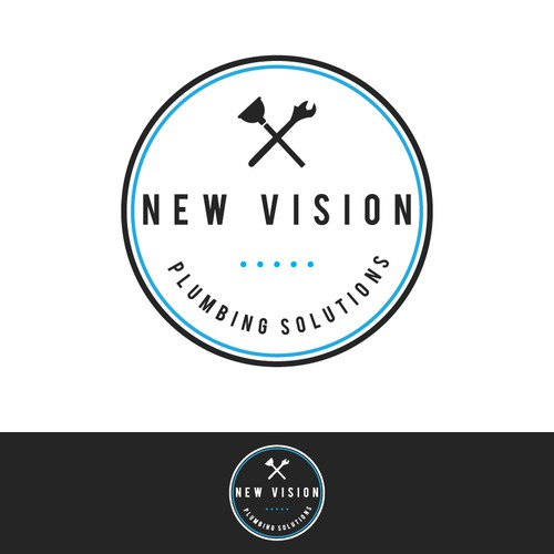 Logo for New Vision Plumbing