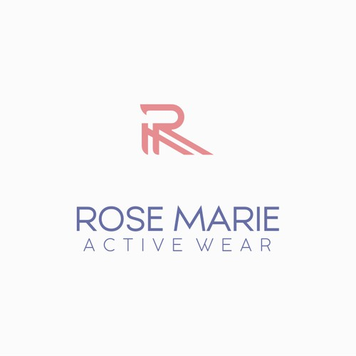 Simple but Stand out logo for Womens Active Wear Clothing