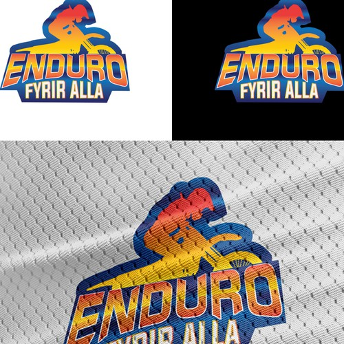 Enduro Motorcycle Race - Logo