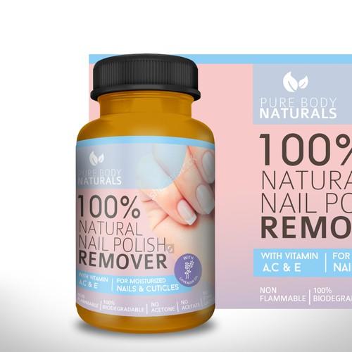 Label for Natural Nail Polish