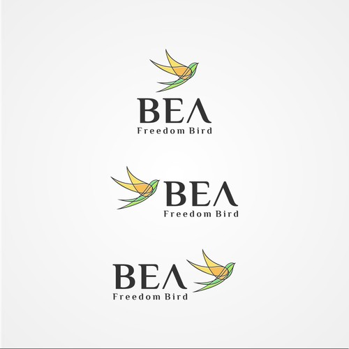 logo concept for Bea, a retail company that only sell plastic-free, sustainable and environmentally friendly products for everyday needs (leisure, work, travel etc.) to environmentally and health-conscious end customers.