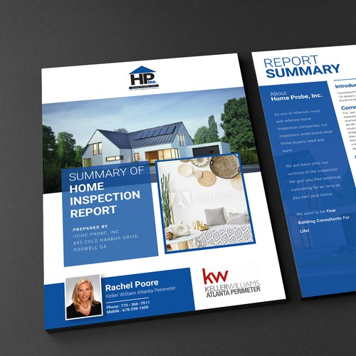 Brochure Design for HOMEPROBE