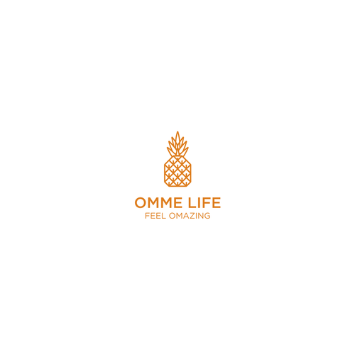 Omme Life - Design a quirky logo for a wellness brand that puts a smile on people's faces
