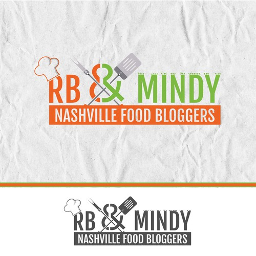 Logo concept for Nashville Food Bloggers