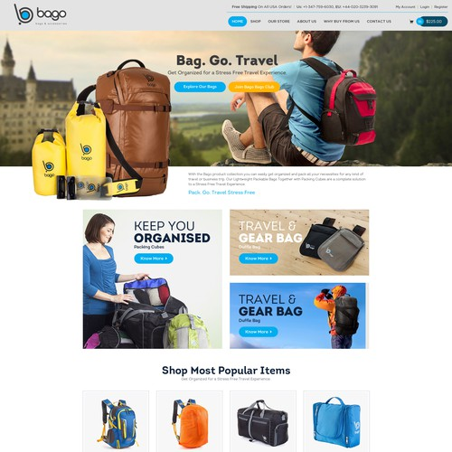 Bogo Travelling Bags