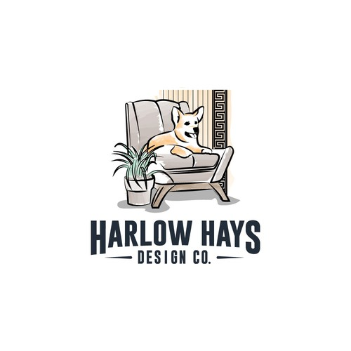Hand draw logo for furnishing contest!
