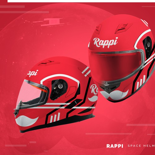 Rappi Food Delivery Space Helmet