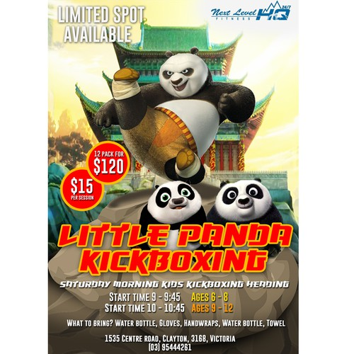 Little Panda Kick Boxing